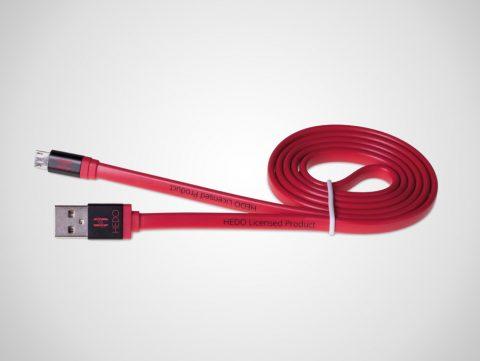 Hedo kabel Lightning czerwony