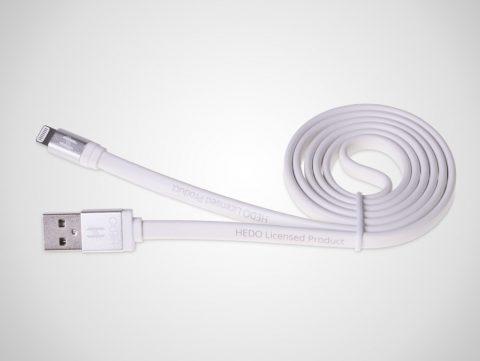 Hedo kabel micro USB biały