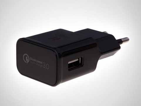 hedo charger adapter usb qc 3.0 black