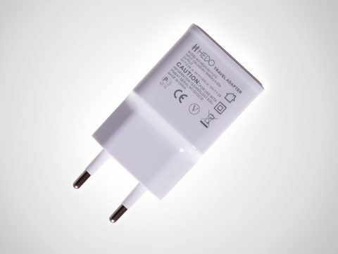 hedo charger adapter usb qc 3.0 white